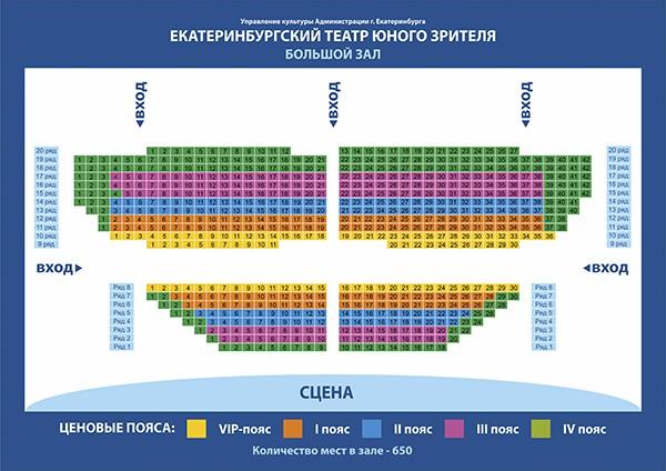 Театр юного зрителя схема зала фото 350